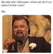 Me after Halloween