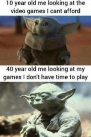 Me as gamer Yoda