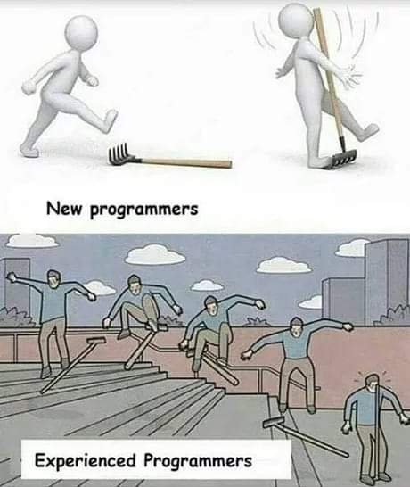 New programmers vs Experienced programmers