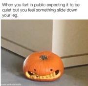 When you fart in public