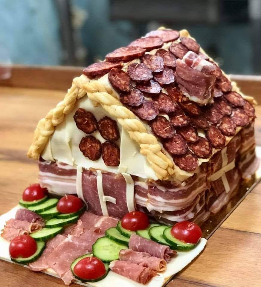 When you use meat instead of gingerbread