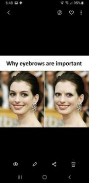 Why eyebrows are important