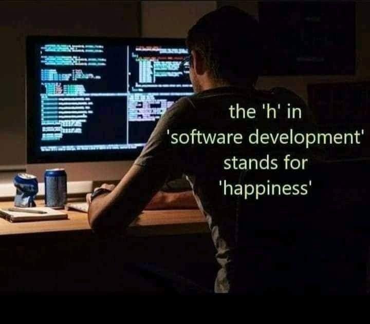 What stands for 'h' in software development