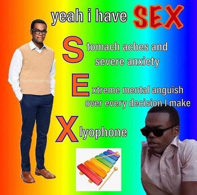 Yeah I have sex