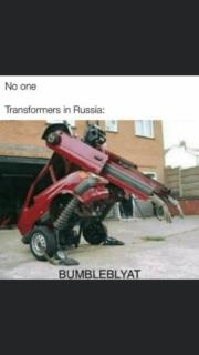 Transformers In Russia – Bumbleblyat