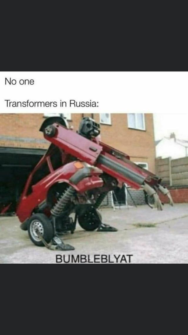 Transformers In Russia – Bumbleblyat