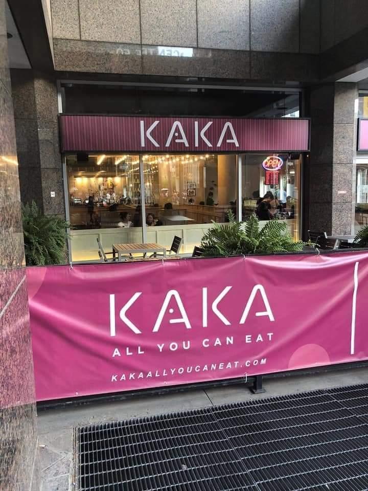 All you can eat Kaka