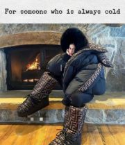 For someone who is always cold