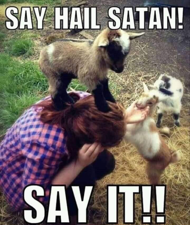 Say Hail Satan!