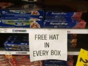 Free hat in every box