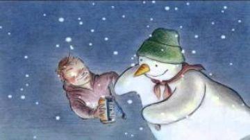 RN-BRU Snowman Advert