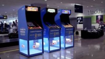 Charity Arcade – play for the Red Cross