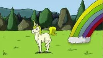 Derp A. Doo The Unicorn – Pooping Rainbows