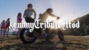 """Ian """"Lemmy"""" Fraser Kilmister Tribute GTA V Möd"""