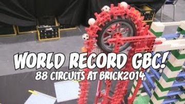 Gigantic LEGO Ball Contraption Breaks World Record
