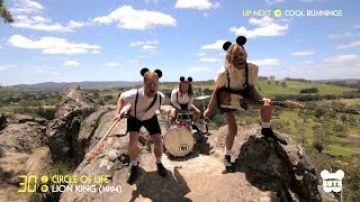 Band destroys Disney in 10 minute mashup