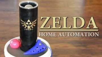Zelda Ocarina Controlled Home Automation – Zelda: Ocarina of Time