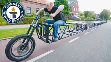 The world's longest bicycle
